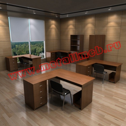 Оснащение офисных помещений